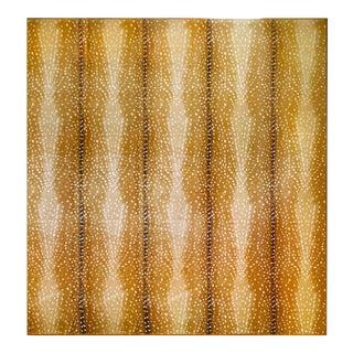 "Stark Antelope Cut Pile Wool Rug (11' X 12'6"") With Stark Rug Pad"