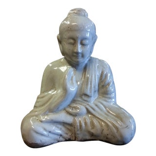 Ivory Sitting Buddha Statue For Sale