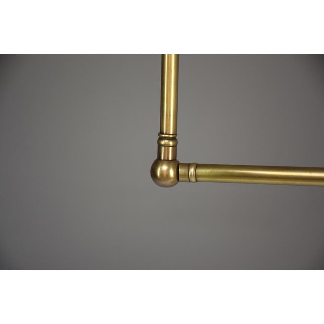 20th Century French Brass Floor Lamp, 1960's For Sale - Image 9 of 12
