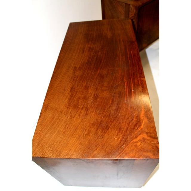 Mid-Century Italian Walnut Cabinets - A Pair - Image 5 of 9