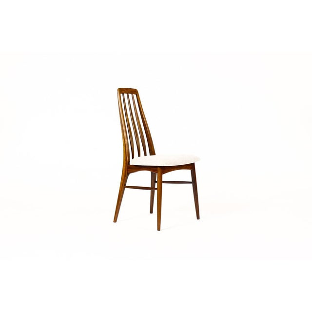 "Danish Modern Danish Modern / Mid-Century ""Eva"" Dining Chairs — Niels Koefoed — Rosewood Frames — Set of 4 For Sale - Image 3 of 11"