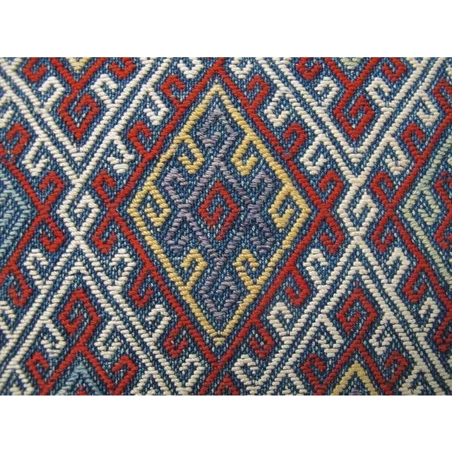 19th Century Fine Silk Flat-Weave For Sale In San Francisco - Image 6 of 6