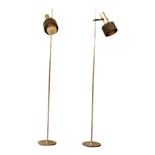 Gerald Thurston for Lightolier Floor Lamps - Pair