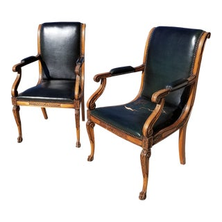 Antique French Arm Chairs For Sale