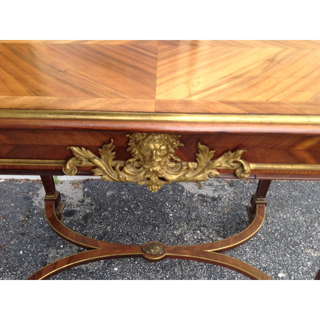 Fine French Ladies Writing Table For Sale - Image 9 of 13