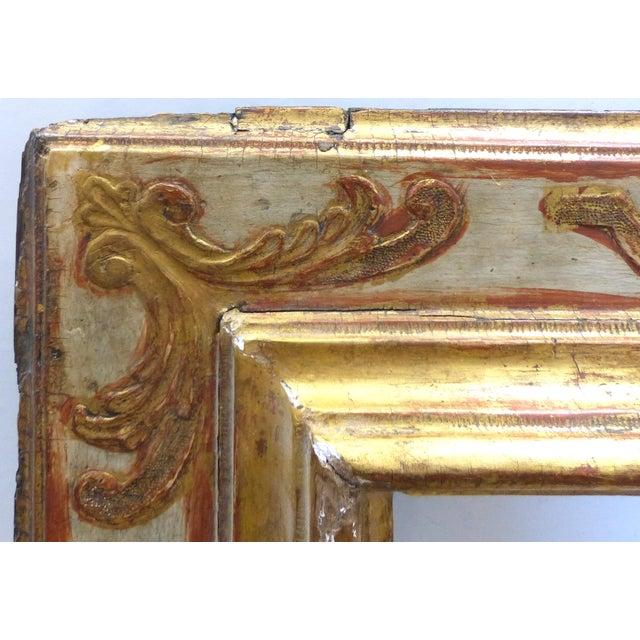 Baroque 17th Century European Gilt-Wood Frame - Image 3 of 9