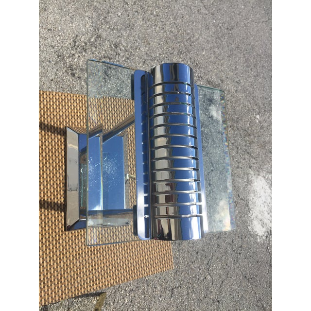 Modern Chrome Lamps - a Pair For Sale In West Palm - Image 6 of 12