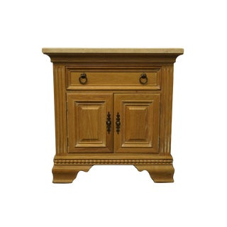 """Hooker Furniture Sommersby Collection Antique Oak 32"""" Cabinet Commode Nightstand 584-90-337 For Sale"""