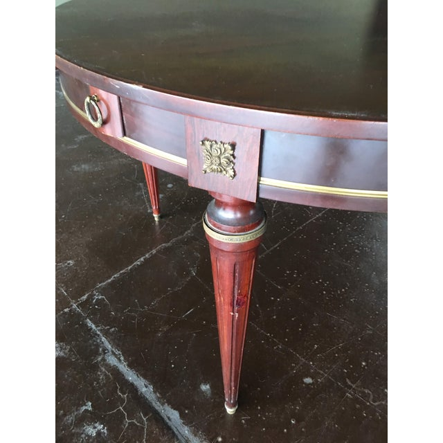 Late 18th Century 18th Century French Louis XVI Style Circular Top Table For Sale - Image 5 of 7