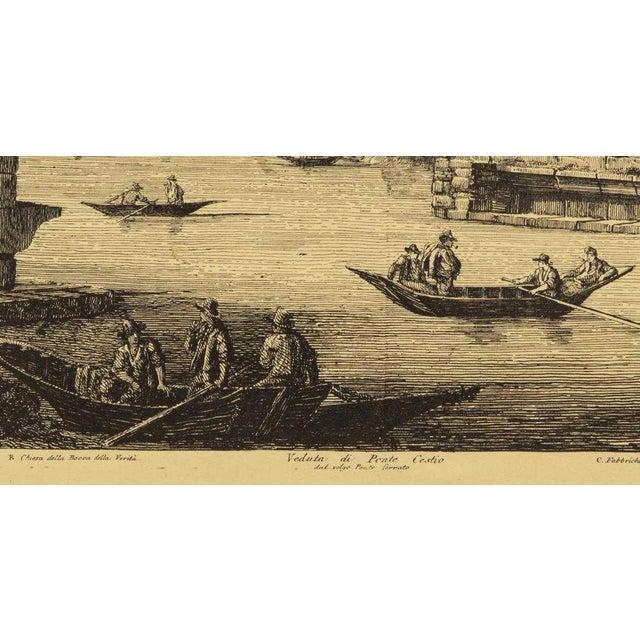 Italian Luigi Rossini (1790-1857) Roman Folio Etchings - Set of 2 For Sale - Image 3 of 7