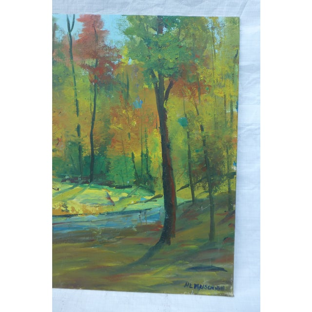 Fall Leaves Painting by H. L. Musgrave - Image 4 of 6