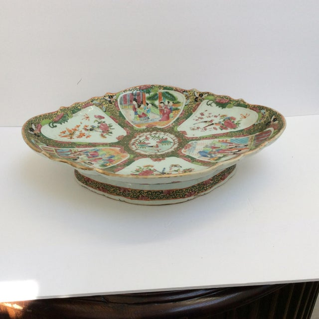 Chinese Canton Famille Rose Serving Platter - Image 2 of 11