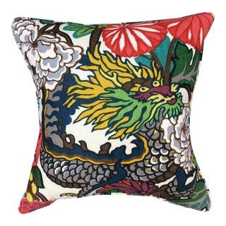 Schumacher Chiang Mai Dragon Pillow