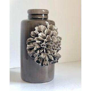 Ceramic Grey Display Flower Vase Preview