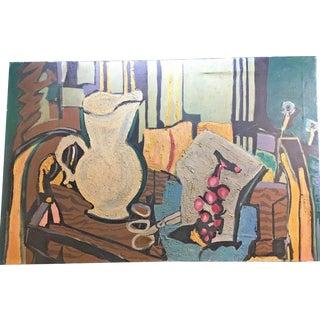 "World Famous Art Forger- Jacques Harvey Original ""Braques"" Oil Painting For Sale"