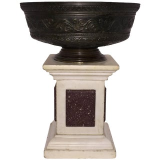 19th Century Italian Neoclassical Style Bronze Bowl For Sale