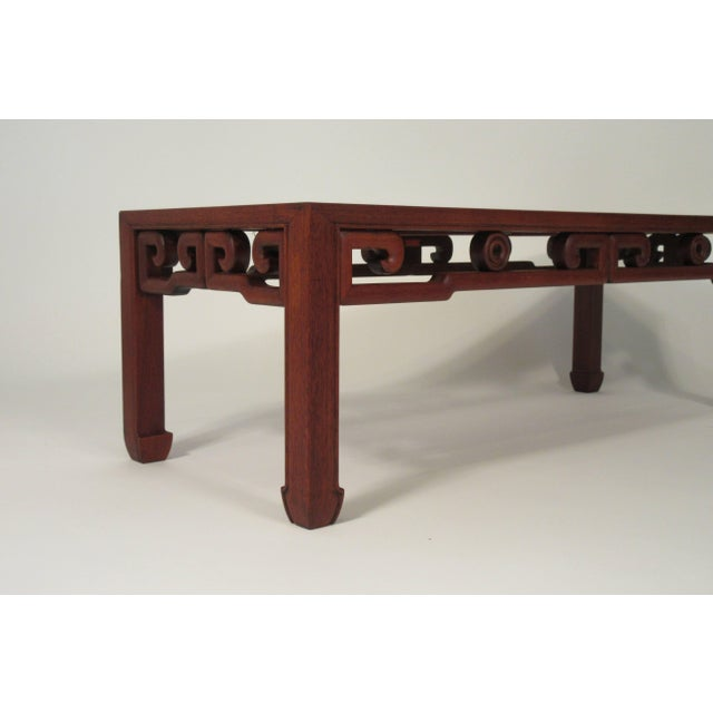 Brown 1950s Asian Coffee Table For Sale - Image 8 of 13
