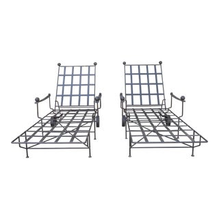 The Heveningham Collection Chaise Lounges - A Pair For Sale