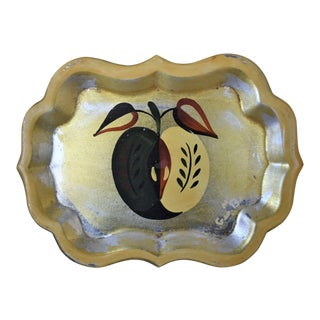 Georges Briard Apple Tray For Sale