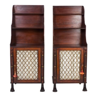 Antique Irish Chiffoniers - A Pair For Sale
