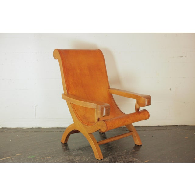 1940s Clara Porset Butaque Chair For Sale - Image 5 of 13