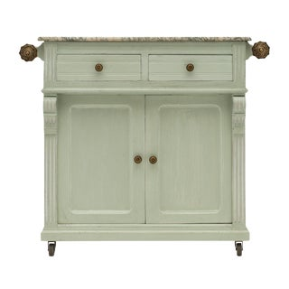 French Antique Painted Pastry Cabinet For Sale
