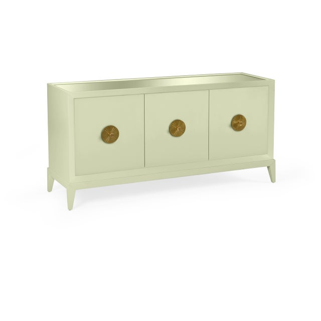 Transitional Casa Cosima Hayes Sideboard, Guilford Green For Sale - Image 3 of 3