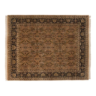 Vintage Indian Heriz Design Carpet - 8' X 10' For Sale