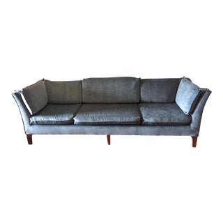 W & J Sloan 1970 Elegant Couch For Sale