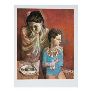 1971 Picasso Mère Et Enfant Photogravure