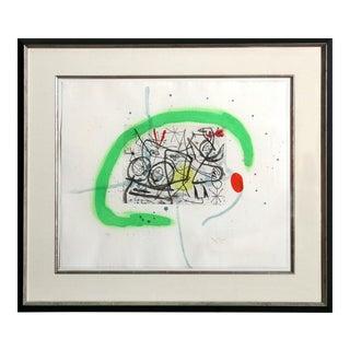 Joan Miró, Preparatifs d'Oiseau IV (Dupin 368), 1963 For Sale