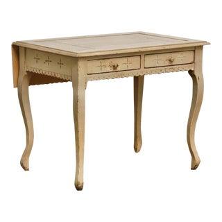 Gustavian Style Drop Leaf Writing Table by Richard Mulligan For Sale