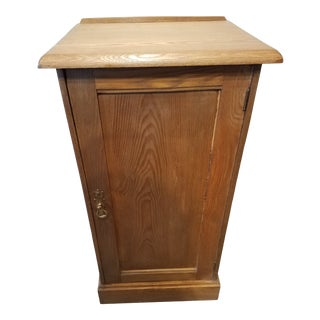 1920s Antique Pine Side Table For Sale