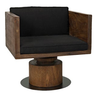 Nori Chair with Metal Base For Sale