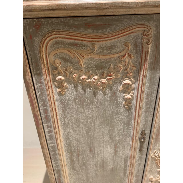 Metal 18th Century Antique French Cabinet For Sale - Image 7 of 13