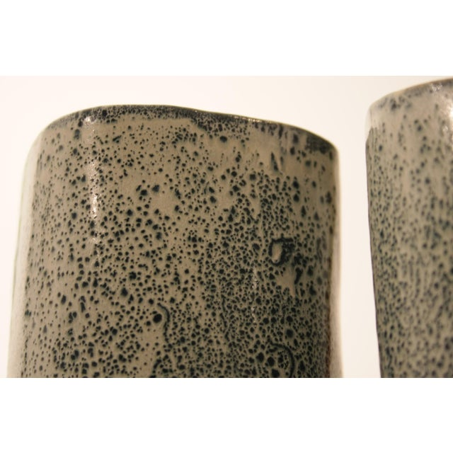Studio Pottery Vases - A Pair - Image 5 of 11