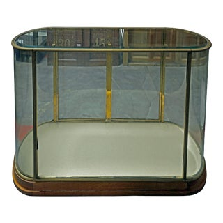 20th Century Traditional Rounded Glass Display