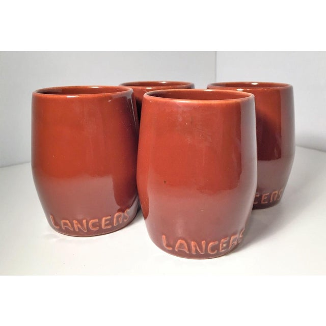 Classy Lancer's Handleless Mug Wine Glasses- Set of 4 - Image 3 of 4