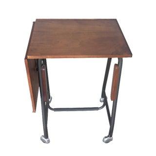 Mid-Century Danish Teak Mini Desk Side Table