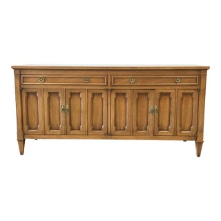 Vintage Drexel Transitional Buffet For Sale