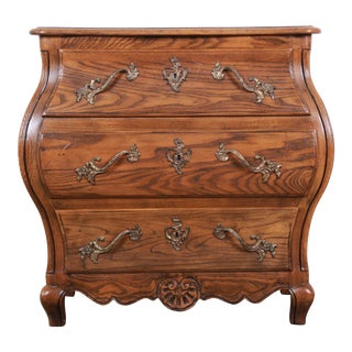 Baker Furniture French Provincial Louis XV Style Bombay Chest of Drawers For Sale