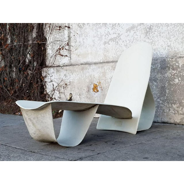 Still working on a tan? Well you can do it in style with this Rare 1971 Fiberglass lounge chair by Po Shun Leong shown at...