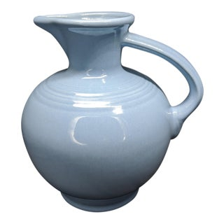 Fiesta Pitcher Periwinkle Retired Fiestaware Usa Pottery For Sale