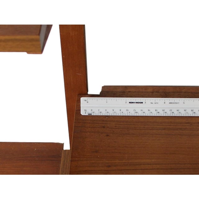 Mid Century Danish 7 Bay Teak Shelving Unit by Ps System For Sale - Image 12 of 13