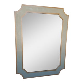 Faux Shagreen Mirror