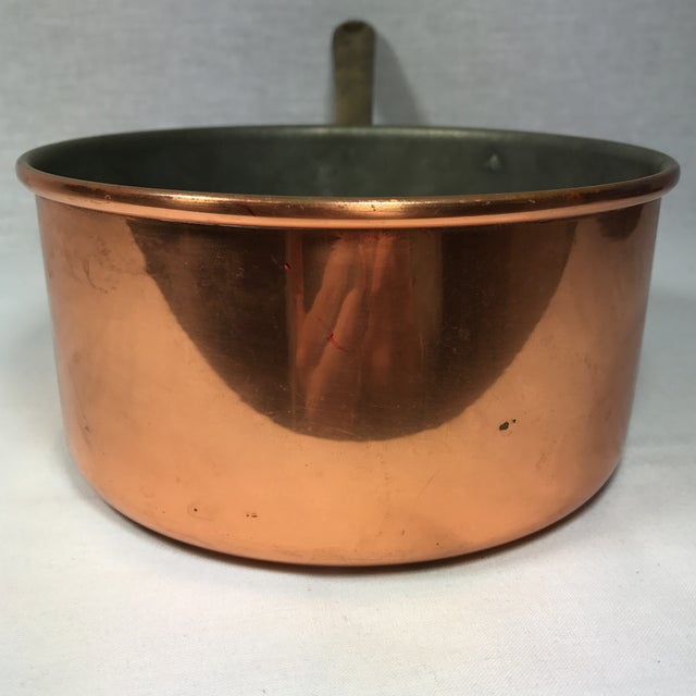 Portuguese Copper & Brass Pan - Image 6 of 10