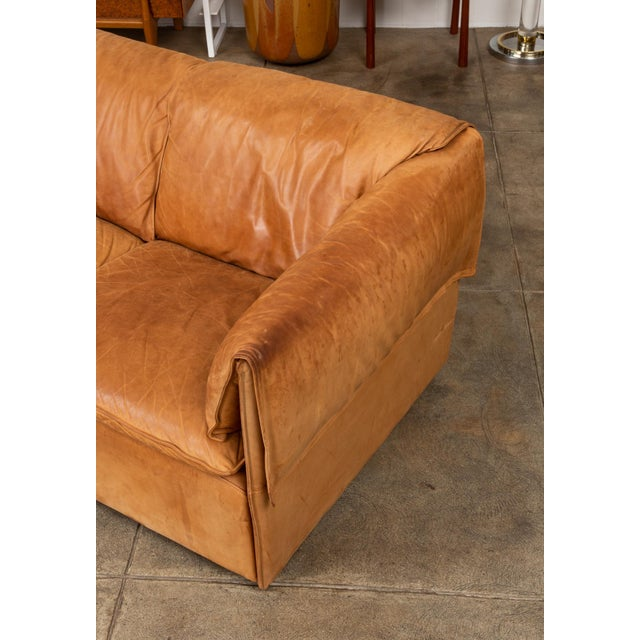 Leather Lotus Sofa by Niels Bendtsen for Niels Eilersen For Sale - Image 7 of 11