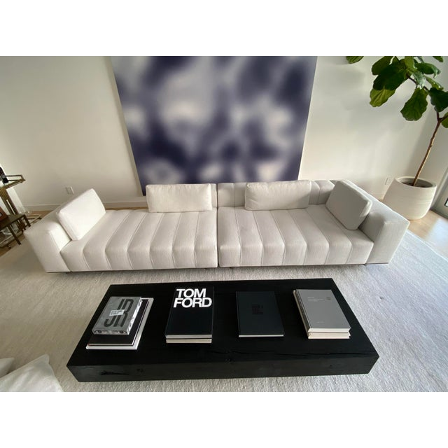 Metal Minotti Freeman Tailor Sofa Daybed Element + Armrest Element For Sale - Image 7 of 7