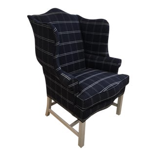 Hickory Chair Townsend Wing Chair Showroom Sample