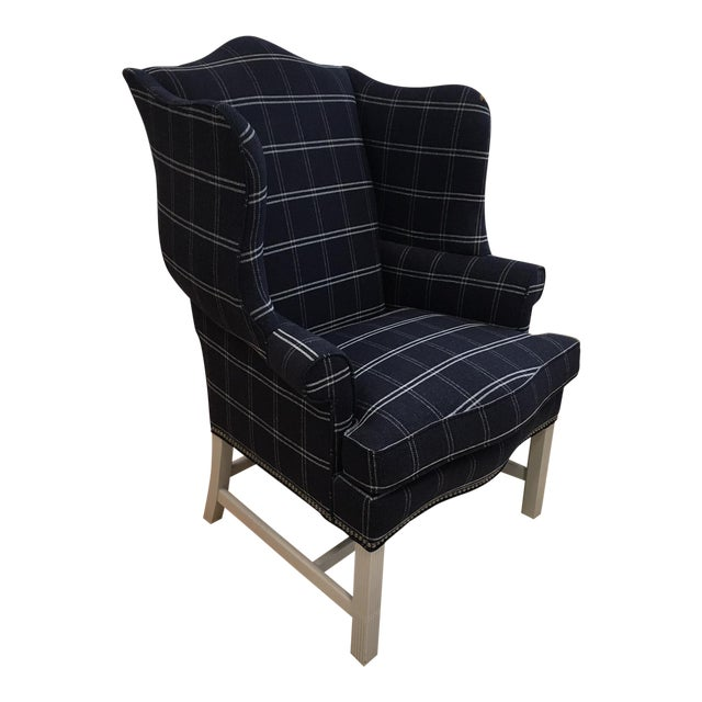 Hickory Chair Townsend Wing Chair Showroom Sample - Image 1 of 5